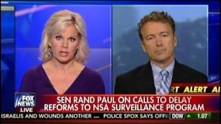 Sen. Rand Paul Appears on The Real Story with Gretchen Carlson - November 19, 2015