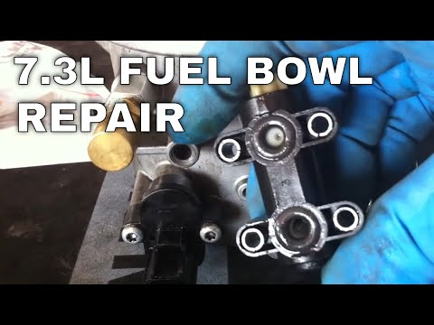 How To: Remove and Repair Fuel Bowl - 7.3L Powerstroke