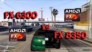 FX 6300 vs FX 8350 Test in 5 Games (R9 380)