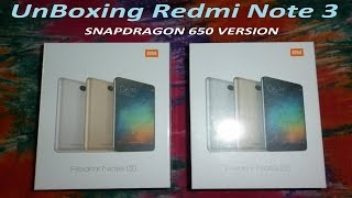 Xiaomi Redmi Note 3 SILVER (16GB) Snapdragon 650 Version Unboxing  Hindi