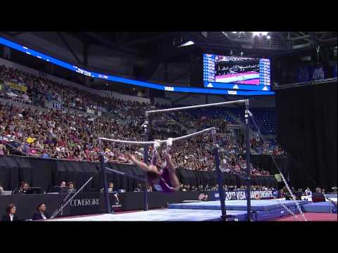 Jordyn Wieber - Bars - 2012 Visa Championships - Sr. Women - Day 2