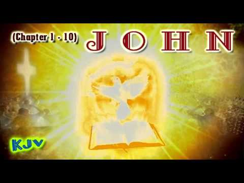 (43) Gospel Of John Pt.1 (chapter 01-10)   (kjv) King James Version - Holy Bible video