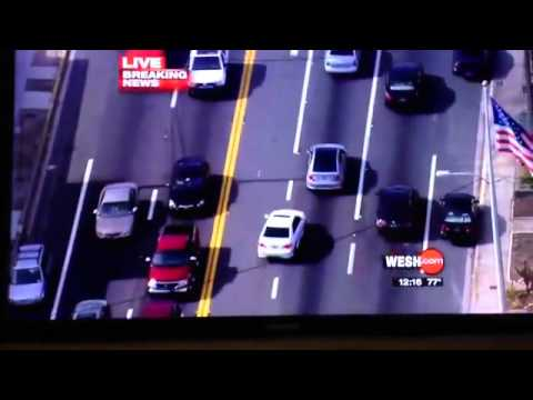 Погоня и авария