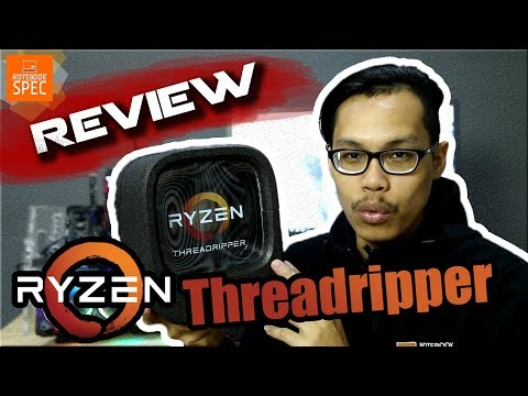 [Review] Ryzen Threadripper 1950X สุดยอด CPU ตัวแรงเทียบชั้น Intel i9