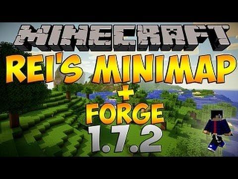 Descargar e instalar REI'S MINIMAP CON FORGE para Minecraft 1.7.2