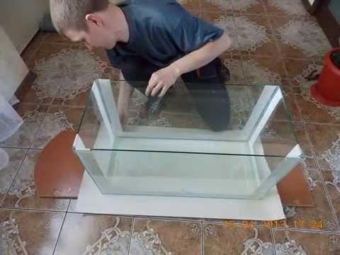 Склеиваем аквариум своими руками