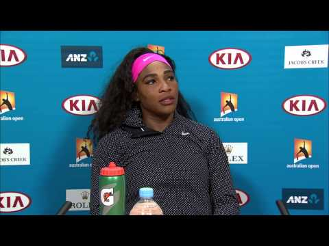 Serena Williams press conference (QF) - Australian Open 2015