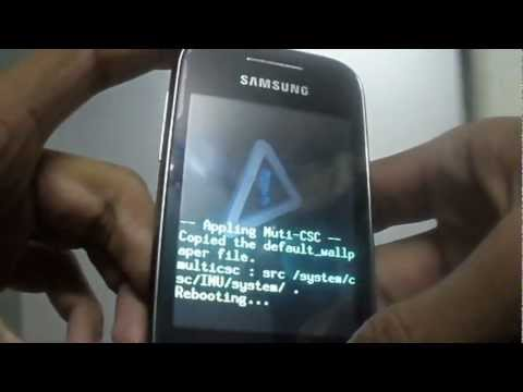INCREASE INTERNAL MEMORY BY PARTITION MEMORY CARD IN ANDROID (DEMO ON GALAXY Y)