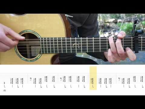 Virgoun - Surat Cinta Untuk Starla - Fingerstyle Guitar TABS Tutorial (Belajar Gitar) Mattias Krantz