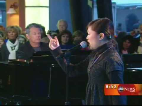 Charice Pempengco • Good Morning America • with David Foster