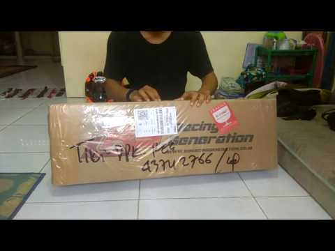 Unboxing - R9 H2 Titanium for Yamaha YZF-R15