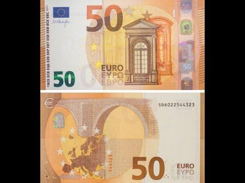 В ЕС ввели в обращение новые 50 евро