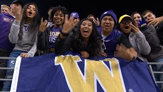 UW spirit team members explain what it means to be a Husky