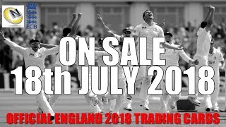 PRE-RELEASE INFO & SNEAK PEAK!! 🏏 Official England 2018 Cricket Trading Cards 🏏 Tap'N'Play