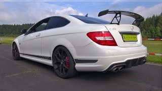 Mercedes-Benz C63 AMG Coupe 507 Edition w/ AlphaMale Performance Exhaust!