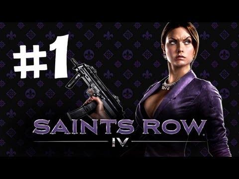 Saints Row 4 Gameplay Walkthrough Part 1 - Lady President