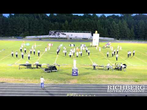 North Raleigh Christian Academy High School at SouthEast Raliegh Band Competion 6 2014