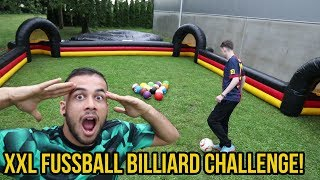 XXL FUSSBALL BILLIARD CHALLENGE VS VISCABARCA + BESTRAFUNG