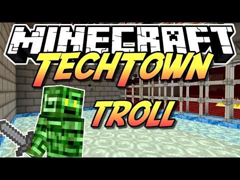 Minecraft TechTown - TROLLVERSUCH BEI SIBSTLP #77 - auf gamiano.de