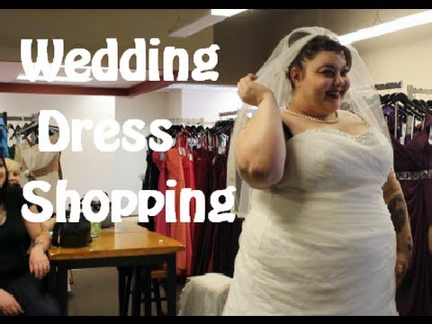 Retro Wedding Planning (Plus Size Wedding Dress Shopping)