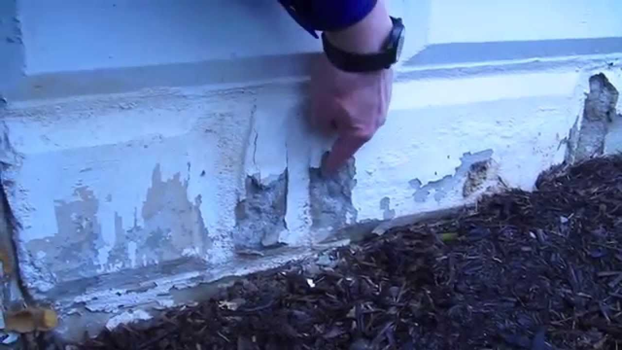 How to repair a crumbling foundation video 1 of 3 youtube for Crumbling concrete floor