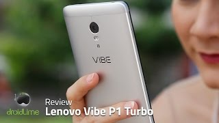 Lenovo VIBE P1 Turbo Review