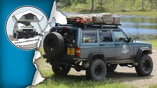 Jeep Cherokee XJ 4x4 Expedition Camper Build