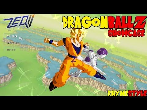 Dragon Ball Z Zeq2: Spirit Bombs. Super Saiyan God Goku. & Epic Attacks! (Showcase)