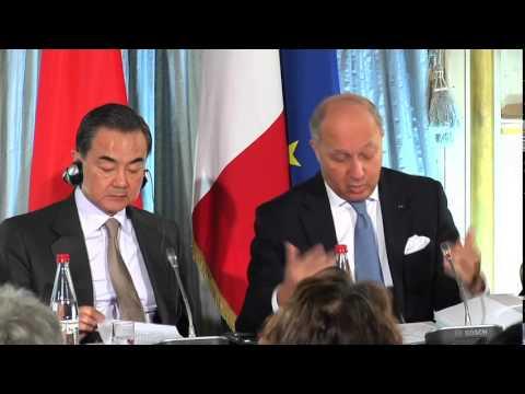 Discours de Laurent Fabius - Ouverture du symposium sur les relations franco-chinoise (27 mars 2014)