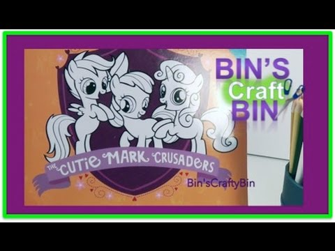 My Little Pony Cutie Mark Crusaders Doodle Book Week 1 by Bin's Crafty Bin!!