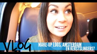 MAKE-UP LOOS, AMSTERDAM EN KERSTSLINGERS?