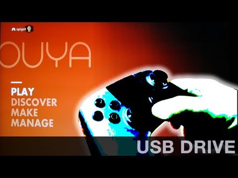 How to Access a USB Drive on the OUYA