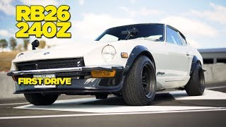 RB26 240Z REVEAL // FIRST DRIVE