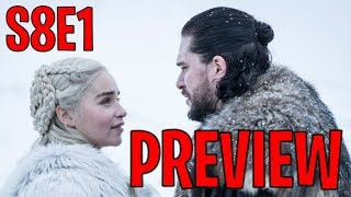 Season 8 Episode 1 Preview and New Scenes Breakdown! | Game of Thrones Season 8