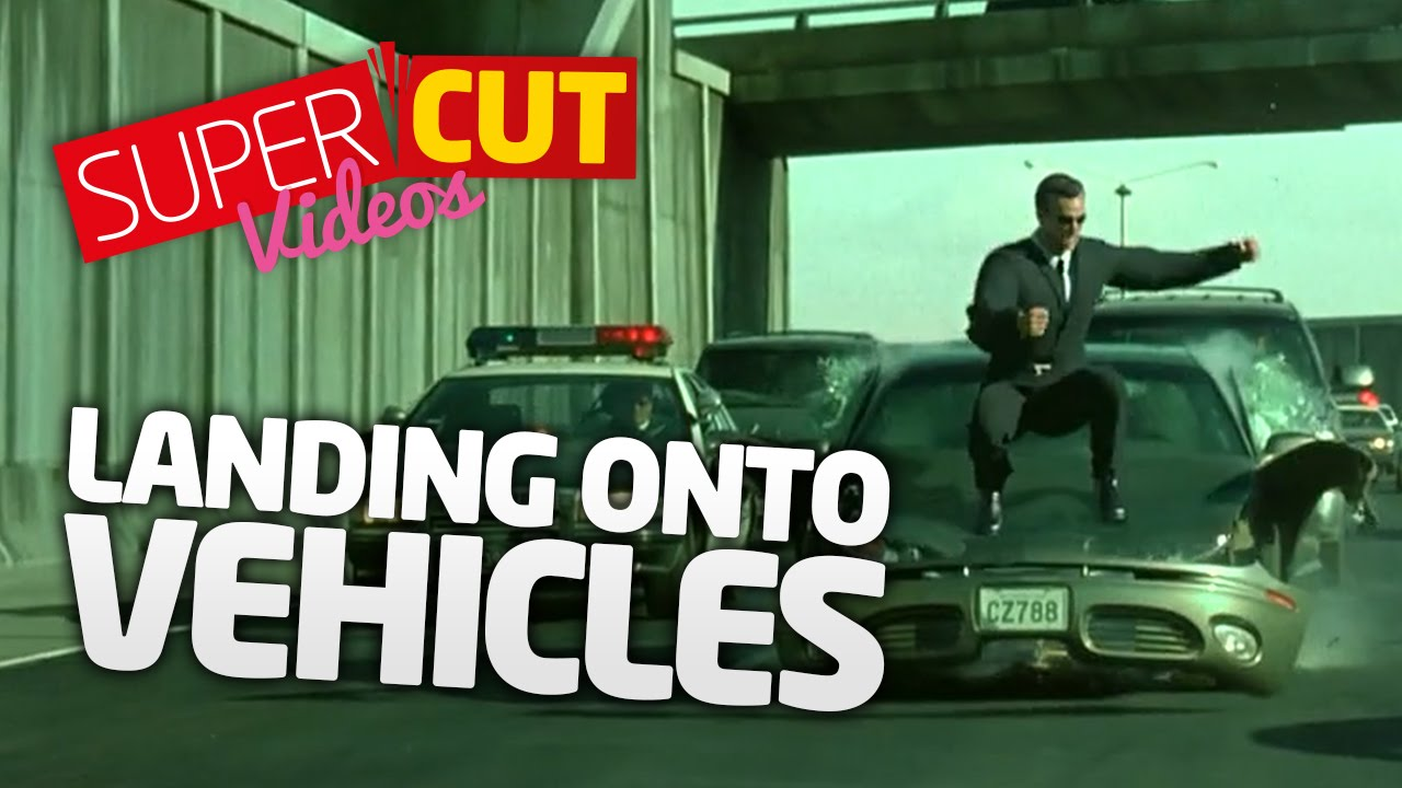 It's The Landing On Cars Supercut