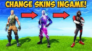 CHANGE SKINS IN-GAME!! - Fortnite Funny Fails and WTF Moments! #548