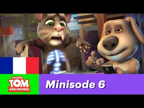 Talking Tom and friends, minisode 6 - Une nouvelle appli ?