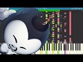 IMPOSSIBLE REMIX Bendy And The Ink Machine Rap Can T Be Erased JT Machinima Piano Cover mp3
