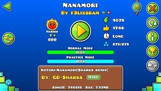 download lagu Geometry Dash: Nanamori By F3lixsram Epic Harder gratis