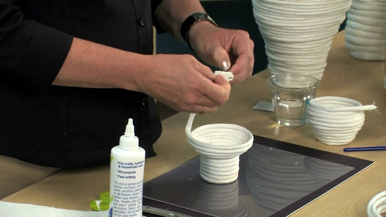 Paper Coil Baskets Lesson Plan Youtube