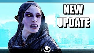 SHADOW OF WAR - NEW UPDATE UNIQUE 85 LEVEL OVERLORD FERAL SLAYER IN DESERT