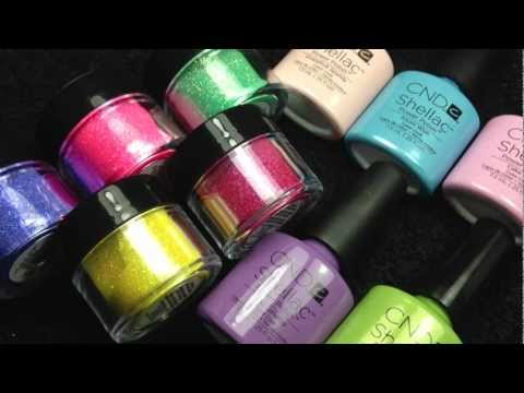 CND Shellac & Additives Spring Collections 2013