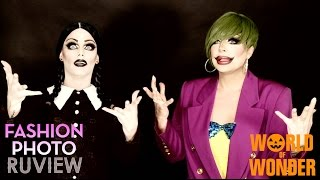 RuPaul's Drag Race Fashion Photo RuView with Raven & Morgan McMichaels - Halloween BOOview