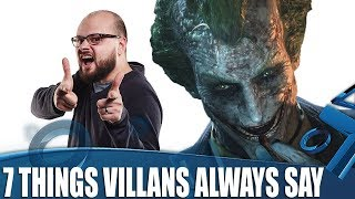 7 Things Videogame Villains Always Say