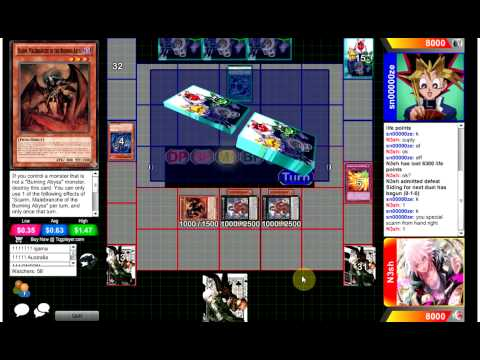 Competitive Yugioh Duels - Burning Abyss Vs Shaddolls : The Unwinnable video