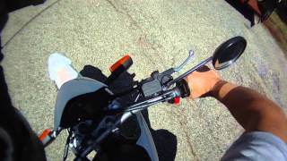 2012 Yamaha XT250 Review - Enduro / Dual Sport / Dirt Bike / Street Bike / Test Drive
