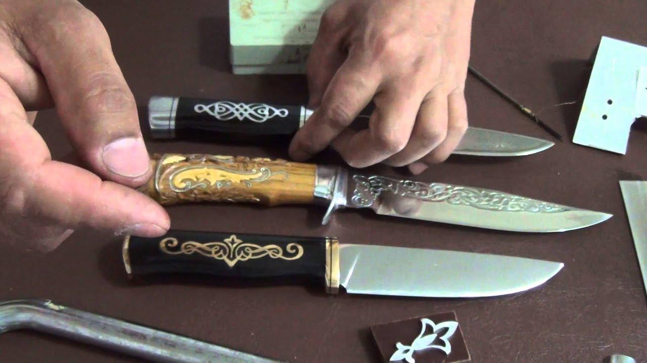 Как сделать ручек для ножа 366