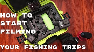 Camera SET UP/ RIGGING For Kayak Fishing | 5 Cameras I Use to Film Fishing