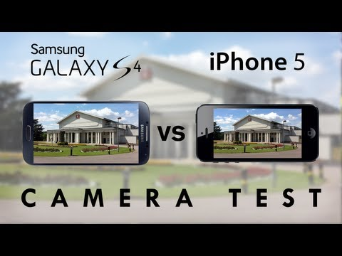 Galaxy S4 vs iPhone 5 - Camera Test Comparison