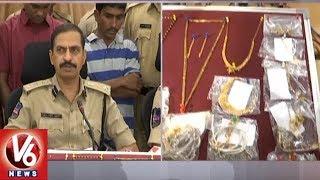 Karimnagar Police Arrests 2 Thiefs- Seizes 40 Thulas Gold And 1.5 Kg Silver  - netivaarthalu.com